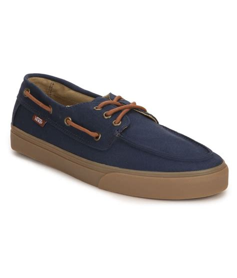 Vans Boat Shoes Price by Vans Boat Navy Casual Shoes Buy Vans Boat Navy Casual