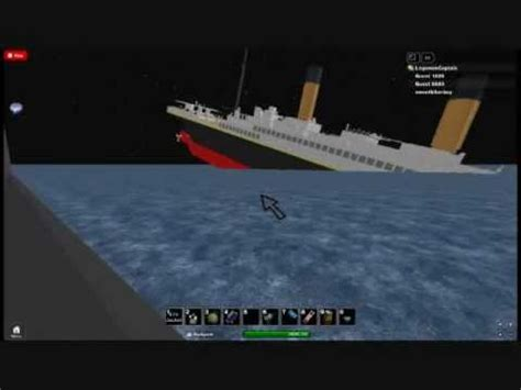 roblox titanic sinking gameonlineflash
