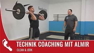Taugt Jay zum Gewichtheben? | Clean & Jerk Technik Check ...
