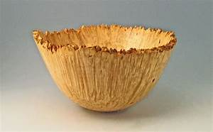 Natural Edge Box Elder Burl Bowl - FineWoodworking