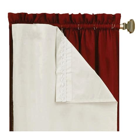 Eclipse Blackout Curtains White by Eclipse Gum Eclipse Curtains Drapes Thermaliner White
