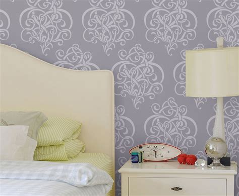 items similar to twist of vines large reusable wall stencil decorative wall stencils wall