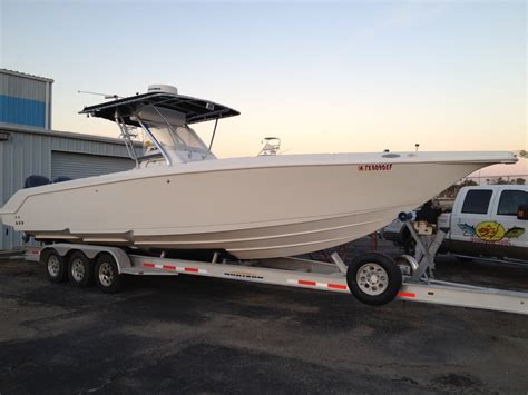Bay Boat With Twin Engines by 3g Offshore Galveston Bay Fishing Charters Deep Sea Bay