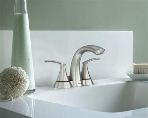 moen darcy two handle brushed nickel bathroom faucet