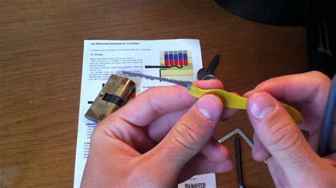 comment ouvrir une serrure sans cl 233 e