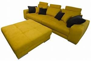 Big Sofa 240 Breit : big sofa mit hocker sofadepot ~ Markanthonyermac.com Haus und Dekorationen