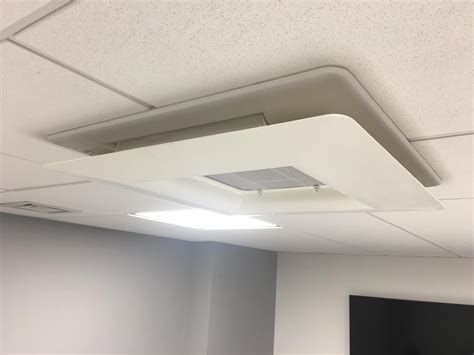 ceiling mounted cassettes installation in hoxton simply air conditioning
