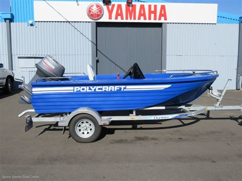 Boats Online Polycraft by New Polycraft 4 10 Challenger Side Console Trailer Boats