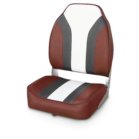 Red Fishing Boat Seats by Wise 174 Economy Fishing Boat Seat 140397 Fold Down Seats