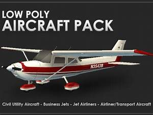 Low Poly Aircraft Pack | Indiegogo