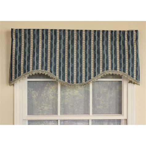 Ellington Stripe Cornice Window Valance Ebay