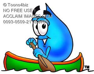 Cartoon Boat Characters by Stock Clip Art Illustration Of A Waterdrop Cartoon