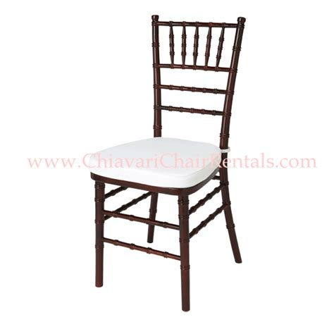 mahogany chiavari chair photos