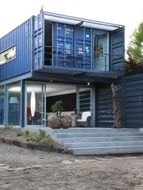 Shipping Container Homes Two Story Container House In El