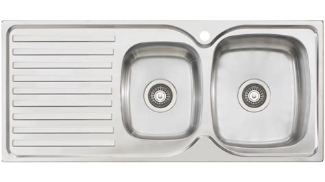 Oliveri Sinks Harvey Norman by Oliveri Byron 1 3 4 Right Bowl Top Mount Sink With
