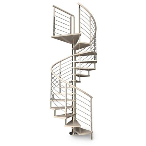escalier h 233 lico 239 dal inox pour le f 251 t et le rant