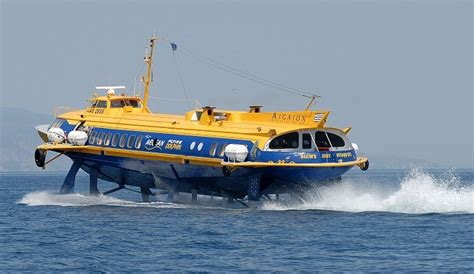 How Does A Catamaran Ferry Work by What Are Hydrofoil Boats