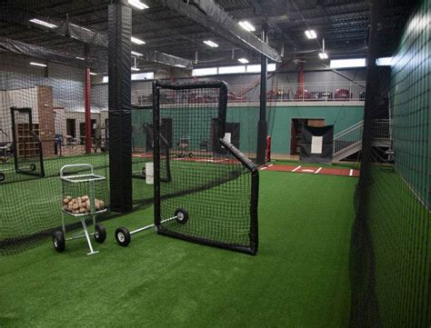 indoor batting cages for baseball softball on deck sports