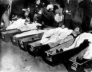 Morgue Photos Of Titanic Victims   Viewing Victims at the ...