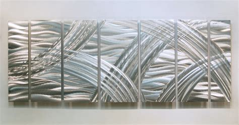 silver contemporary metal wall sculpture modern accent elements of jazz ebay