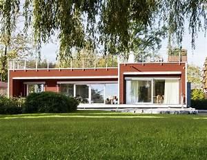 Fertighaus Bungalow Holz : bungalow am see baufritz fertighaus ~ Markanthonyermac.com Haus und Dekorationen