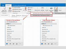 How to restorereset folder view settings in Outlook?