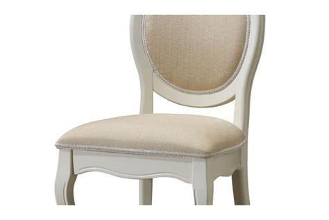 lot de 2 chaises m 233 daillon en tissu coloris 233 cru antoinette design pas cher sur sofactory