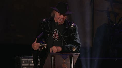 ' Neil Young's Songwriters Hall Of