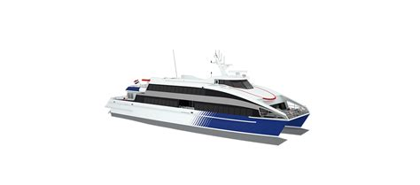 Catamaran Ferry Safety by Highly Reliable Fast Ferry 4212 Due To Four Engines And