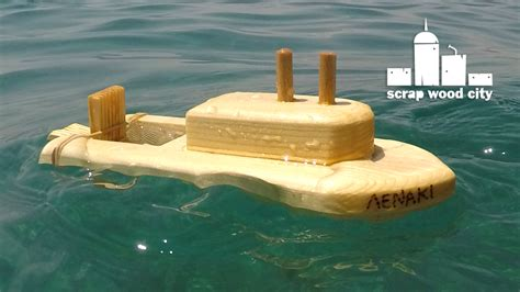 Easy Toy Boat by Scrap Wood City How To Make A Wooden Toy Boat