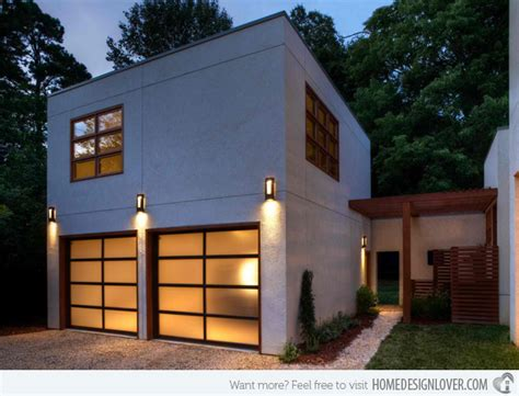 Detached Modern And Contemporary Garage Design