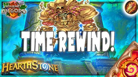 hearthstone rewinding times otk time warp quest mage deck tech ungoro furo legend