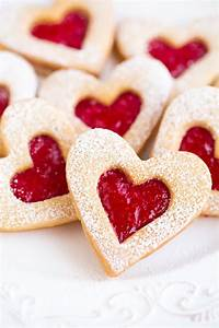 Heart Shape Linzer Cookies – Cheap & Easy Valentine Party ...