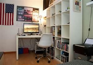 Ikea Schreibtisch Mit Regal : regale und schreibtisch richtig kombinieren und mehr platz gewinnen ~ Markanthonyermac.com Haus und Dekorationen