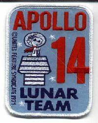 Apollo 14 Lunar Team (Snoopy) | Space Patch Database