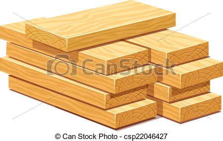 illustration vecteur de bois tas planches bois construction tas de rasped csp22046427