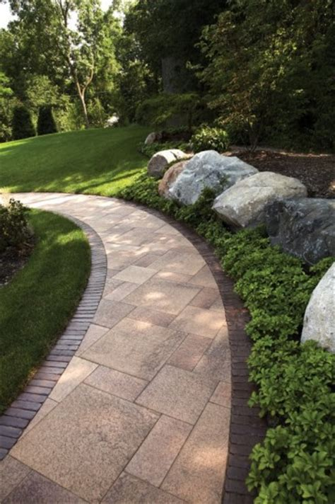 Paver Walkway By Unilock With Umbriano And Copthorne Photos