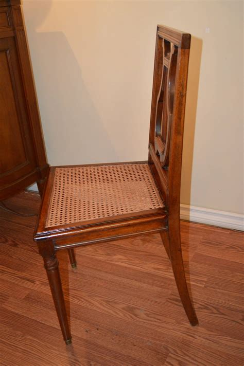 set of six mahogany harp back dining chairs for sale at 1stdibs