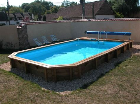 photos piscine piscine bois semi enterr 233 e