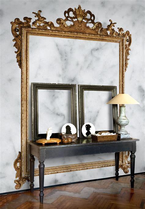 wall effect trompe l oeil wallpaper louis xv by wall dec 242 design christian benini