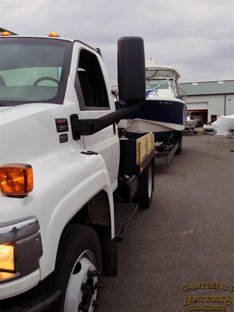 New Boat Hauling Truck Gmc C5500, Bourne Cape Cod