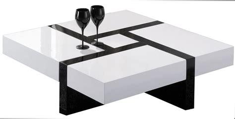 table basse table basse carree noir pas cher