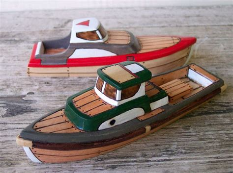 Toy Boat At Home by Wooden Toy Boats By Friendlyfairies Carved In Oregon