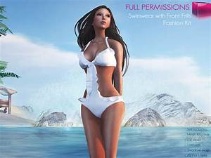 Second Life Marketplace - Full Perm Rigged Mesh Swimwear ...