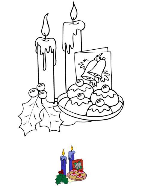 dessin 224 colorier bougies et d 233 coration de no 235 l tipirate