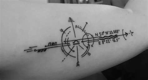 25+ Best Ideas About Coordinates Tattoo On Pinterest