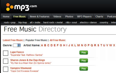 Top 10 Websites For Free & Legal Mp3 Music Downloads