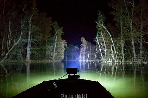 Boat Lights For Night Driving by Duck Boat Led Light With Wide 12 000 Lumen Southern Lite Led