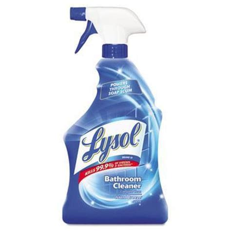 lysol 174 disinfectant bathroom cleaners