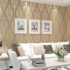 Moderne Tapeten Wohnzimmer : wohnzimmer tapeten braun beige ~ Markanthonyermac.com Haus und Dekorationen